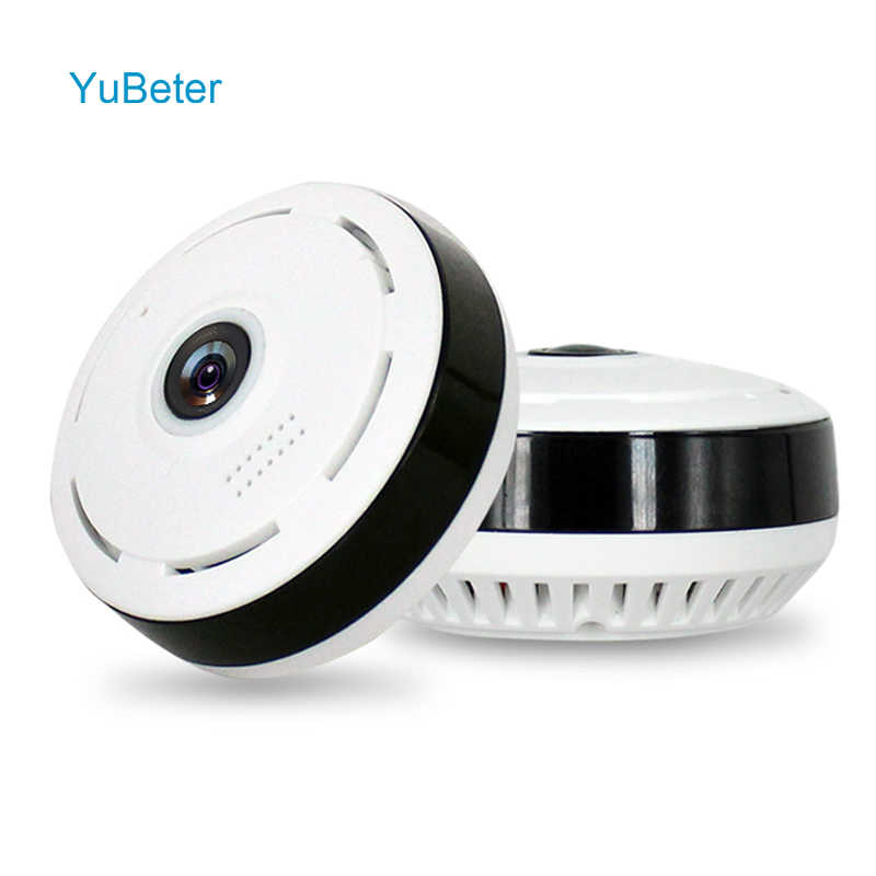 YuBeter 360 home security Surveillance panoramic camera wifi IP wireless CCTV camcorder 1.3MP 960P Two Way Audio Night Version