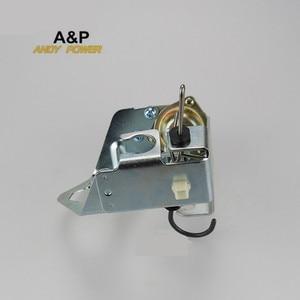 Image 4 - 5kw 6.5KW مولد السيارات المكربن خنق صمام تحكم مضخة ، 188F GX390/GX420 السيارات خنق صمام تنظيم مضخة المثبط قوس