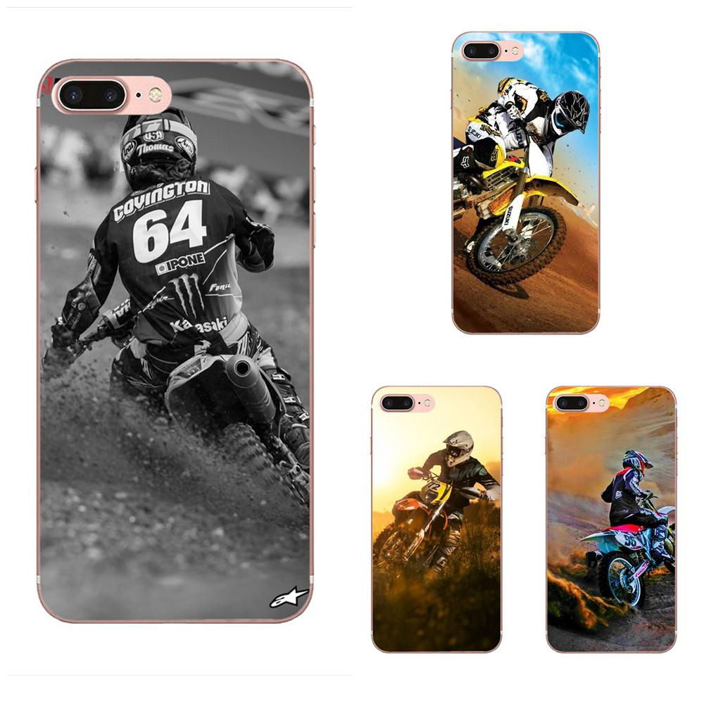 Soft Cell Cover Case For Apple iPhone 4 4S 5 5C 5S SE 6 6S 7 8 Plus X XS Max XR Motocross Camo