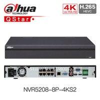 DaHua 4K H.265 POE NVR NVR5208 8P 4KS2 NVR5216 16P 4KS2 NVR5232 16P 4KS2 8/16/32 Channels H.265 12MP Network Video Recording