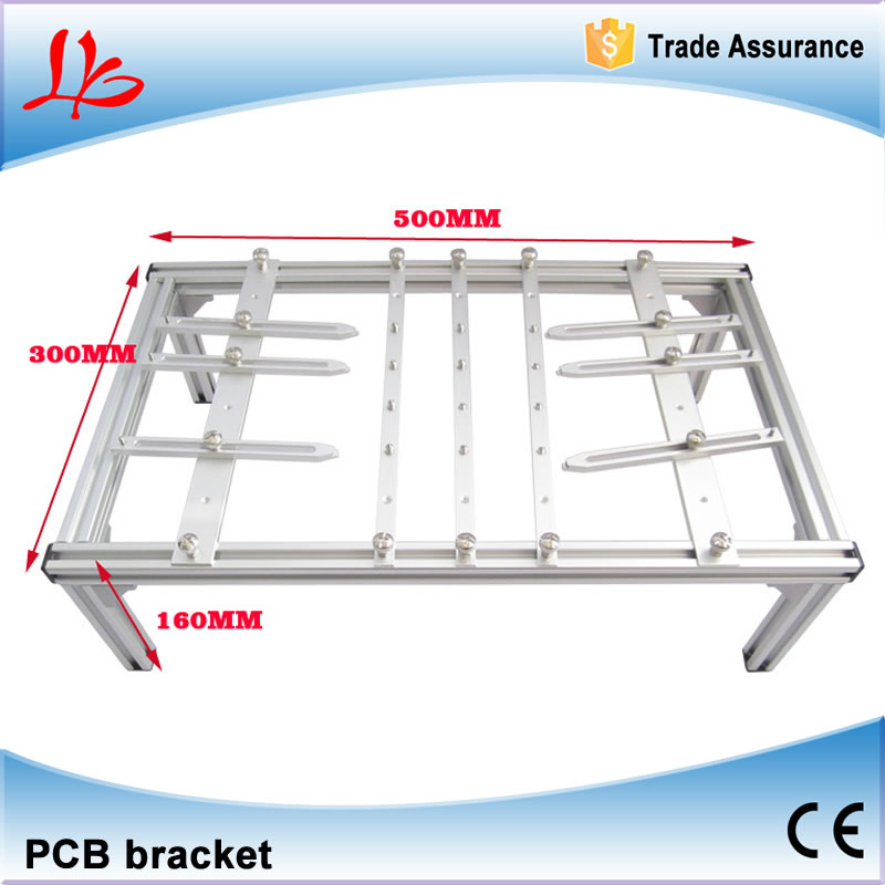 PCB clamp for BGA rework repair, PCB bracket 500mmx300mmx160mm support PCB board free shipping pcb motherboard clamp for bga rework repair pcb bracket 480 290 120mm support pcb board