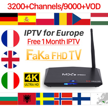 IPTV Italia Full HD IPTV France Free 1 Month IPTV MX9 Pro Android 8.1 TV Box Arabic UK Canada IP TV Portugal IP TV Europe IP TV
