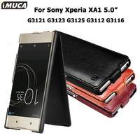 For Sony Xperia XA Case Cover Flip Case For Sony Xperia XA1 IMUCA Cover Leather Capa