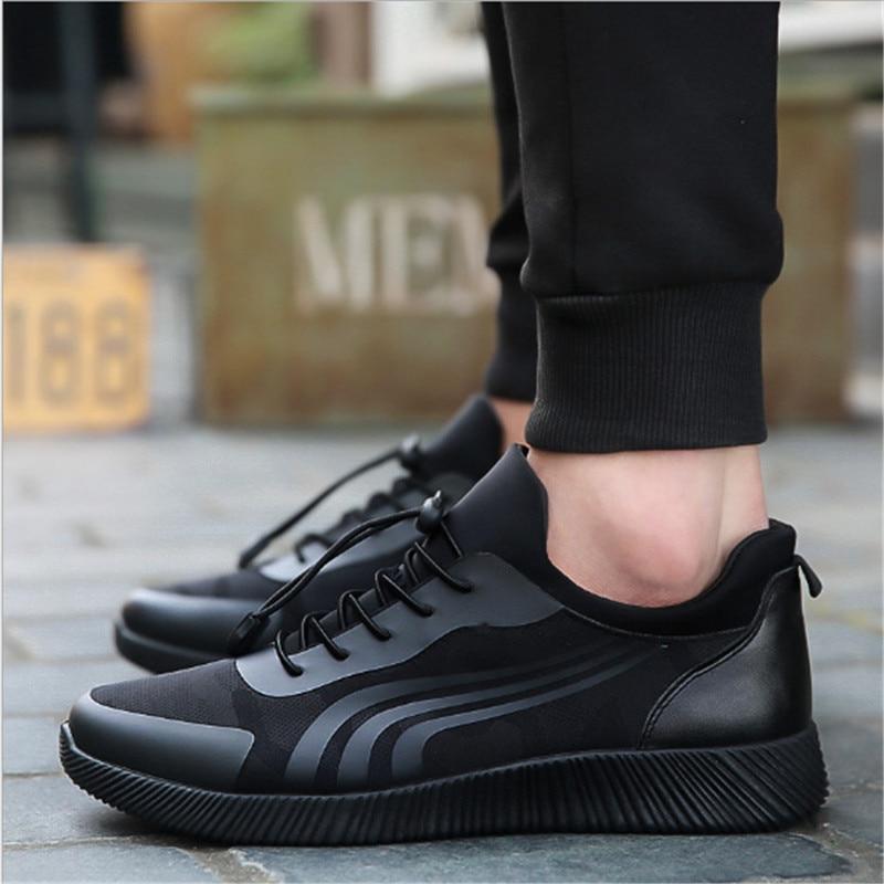 Fall 2018 Fashion All-Match Patogu dėvėti naujus vyrų išdirbtus - Vyriški batai