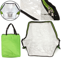Green Portable Solar Oven Bag Cooker Sun Outdoor Camping Travel Emergency Tool For Cooking Solar Oven