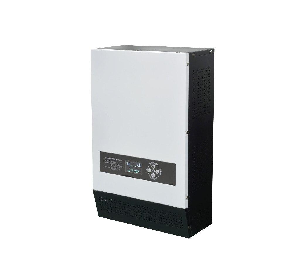 цена на solar hybrid inverters 5000VA 4000W Pure Sine Wave Inverter built-in MPPT solar charger & battery charger
