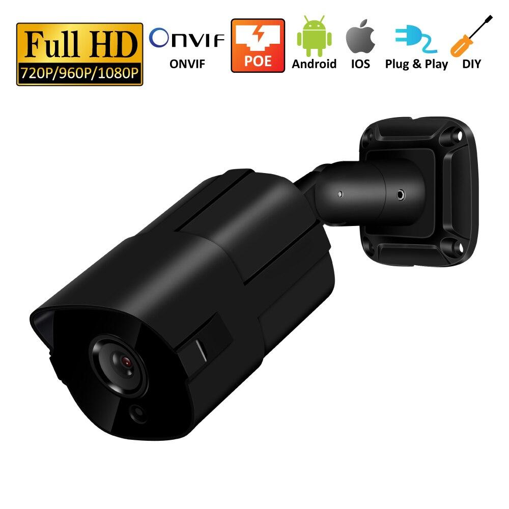 5MP H.265 P2P POE Câmera IP de Vigilância de Vídeo Da Câmera de Segurança Em Casa Full HD NVR ONVIF Detecção de Movimento Alertas de E-mail