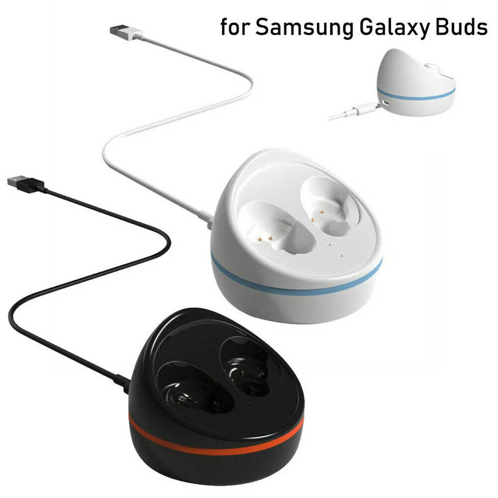 Szybkie ładowanie Case wymiana ładowarka stacja dokująca do kołyski dla Samsung Galaxy pąki Bluetooth bezprzewodowe słuchawki douszne