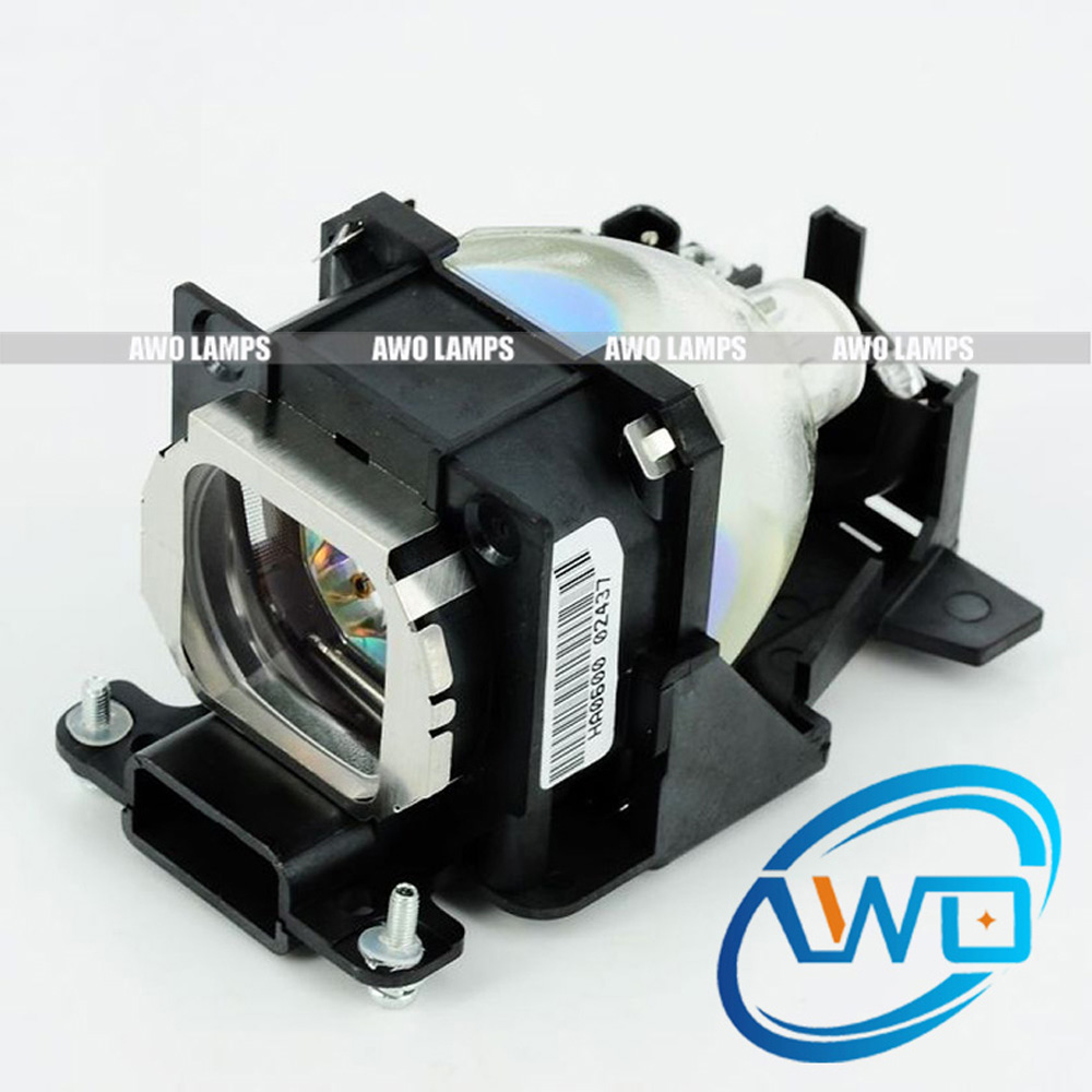 AWO Replacement Compatible Projector Lamp ET-LAB10 with Housing for PT-LB10/PT-LB20 Projectors awo compatibel projector lamp vt75lp with housing for nec projectors lt280 lt380 vt470 vt670 vt676 lt375 vt675