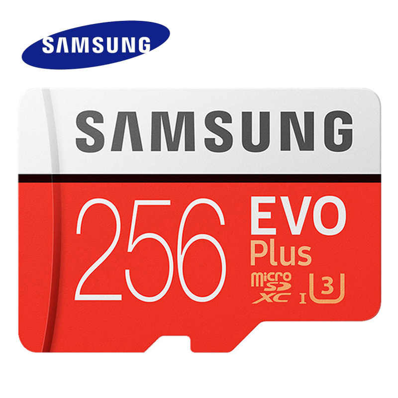 Cartão sd do flash c10 256 do micro sd do cartão c10 128 do microsd de samsung evo plus cartão de memória evo + UHS-I gb 16 gb micro sd 32g 64 gb gb