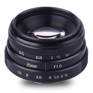 Image 2 - Neue kommen fuji eine 35mm f1.6 C mount kamera CCTV Linsen II für N1 fuji film fuji NEX Micro 4/3 EOS B