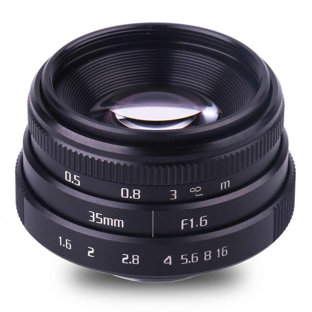 Новое поступление fuji an 35 мм f1.6 C крепление камеры Объективы для видеонаблюдения II для N1 fuji фильм fuji NEX Micro 4/3 EOS B