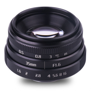 Image 2 - new arrive fujian 35mm f1.6 C mount  camera CCTV Lenses II for N1 Fujifilm Fuji NEX Micro 4/3 EOS B