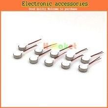 100ピース/ロット携帯電話バイブレータモータ0827コイン振動モーター永久磁石パンケーキミニモーター8ミリメートルx 2.7ミリメートル送料無料