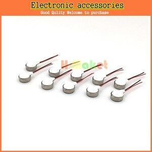 Image 1 - 100 sztuk/partia telefon komórkowy wibrator silnika 0827 monety wibracyjne magnes stały silnika naleśnik MIni silnik 8mm x 2.7mm darmowa wysyłka