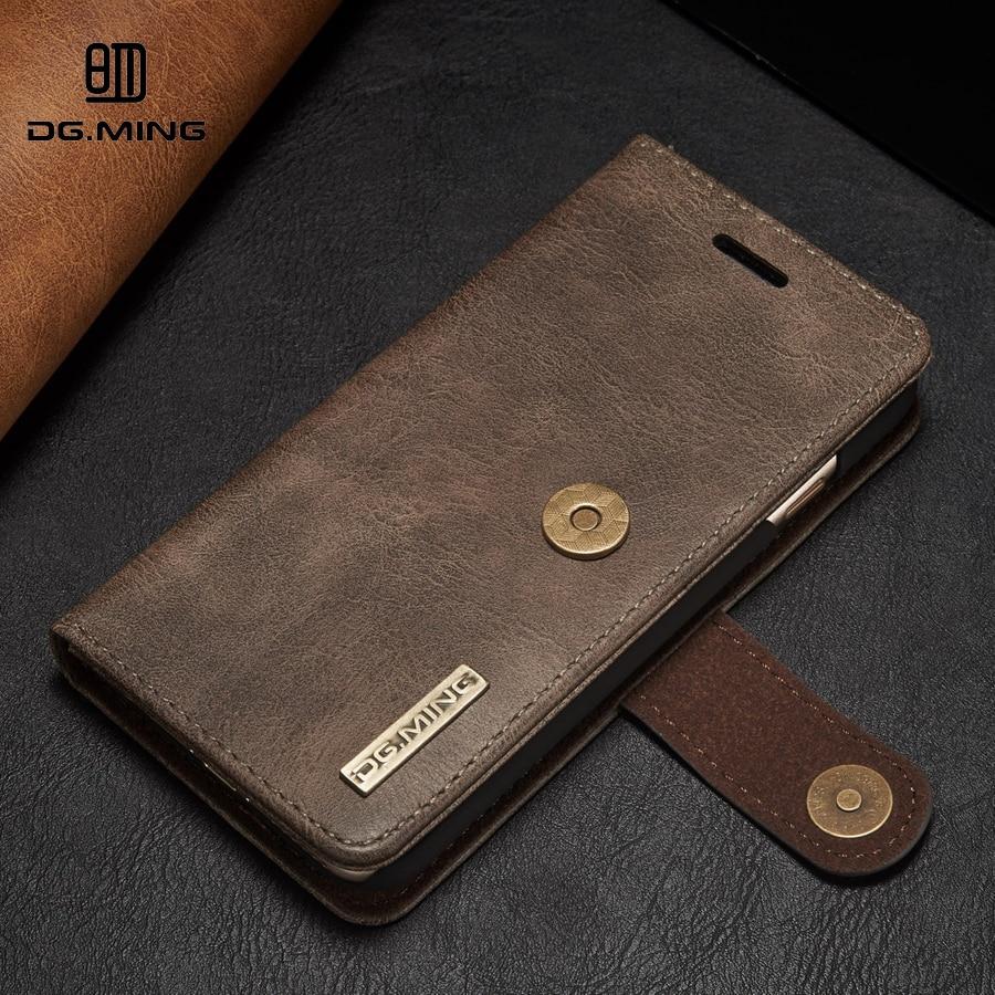 imágenes para De cuero original del tirón de la carpeta del teléfono case para apple iphone 6 s 6 cubierta para iphone 6 s 6 plus case cubierta iphone6 fundas coque