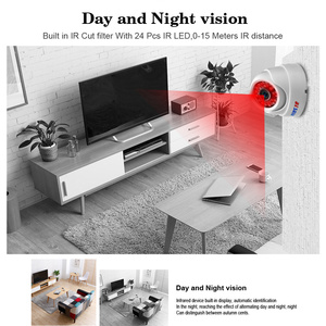 Image 3 - BESDER Wide Angle 2.8mm IP Camera Wireless Audio 1080P Indoor Dome Security Wi Fi IP Camera With SD Card Slot ONVIF RTSP FTP