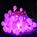 10M led string lights with 80led ball AC220V holiday decoration lamp Festival Christmas lights outdoor lighting Holiday lighting