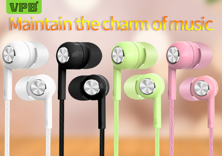 VPB S32 earphones Music Earbuds Stereo Gaming Earphone for Phone with Microphone for iPhone 5s 6 plus Computer wholesale
