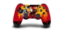 Red Dead Redemption 2 Skin Sticker For Dualshock PS4 Controller