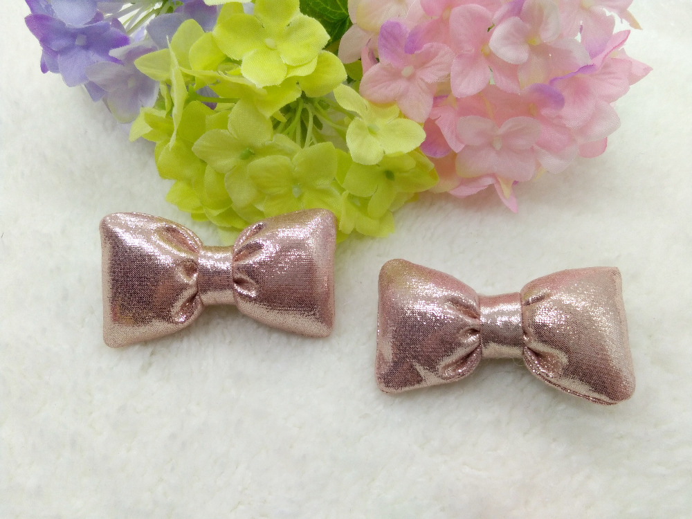 20pcs / 3C Pink Gold Red FashionCute Glitter Hair Bow Girls Hairpins - Accesorios para la ropa - foto 3
