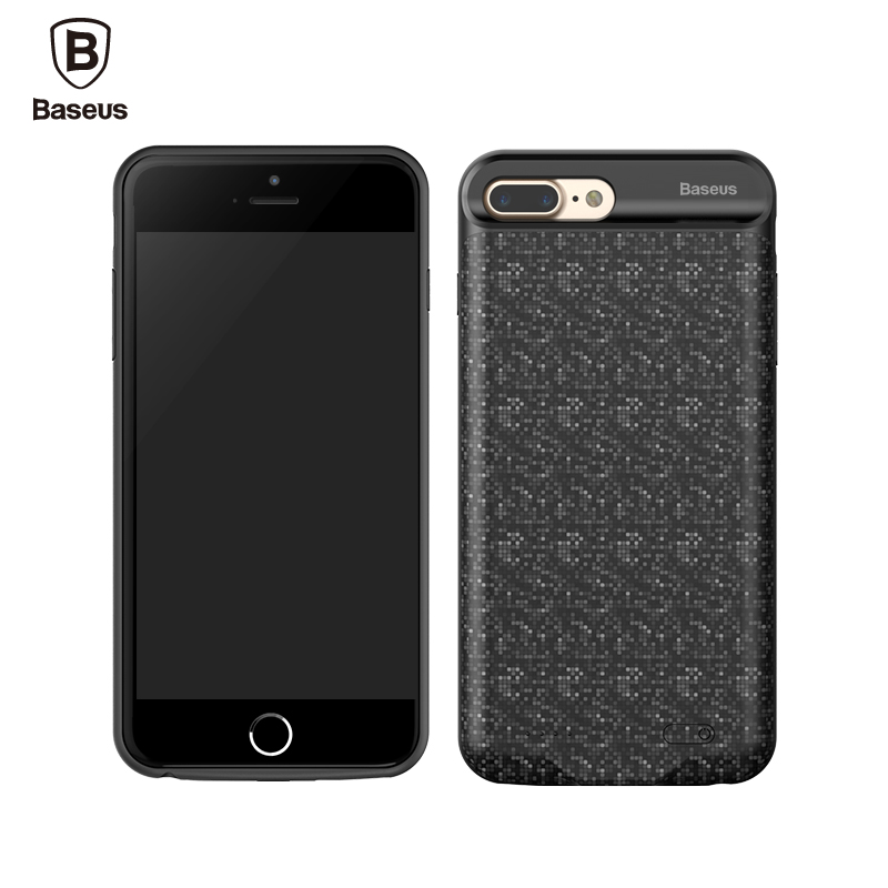 Baseus Case For iPhone 7 7 Plus 2500/3650mAh Power Bank Charger Case Ultra Slim External Pack Battery Backup Charging Case Cover