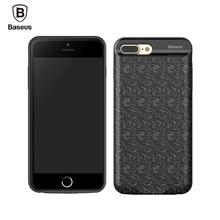 Baseus Чехол Для iPhone 7 7 Плюс 2500/3650 мАч Power Bank зарядное устройство Случае Ультра Тонкий Внешний Аккумулятор Резервного Зарядного Футляра крышка