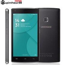 Original Doogee X5 MAX Pro 5.0 pulgadas smartphone 4G LTE Android 6.0 MTK6737 Quad Core 2 GB + 16 GB 8.0MP Huella Digital celular 4000 mAh