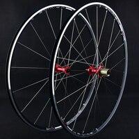 Road Bike Wheel Set 700C Ultra light Round Group 120 Ring Sapim Spokes Sun Car Rim Broken Wind Wheel Group Cycling Parts