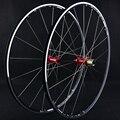 Roda de Bicicleta de estrada Conjunto Grupo 700C Ultra-luz Redonda 120 Anel Sapim Raios de Sol Aro Carro Roda de Vento Quebrado grupo de Ciclismo Peças