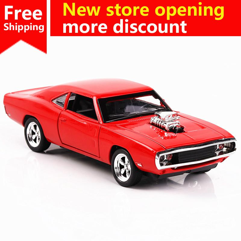 Ant 1:32 speed and passion Dodge Warrior Muscle Car Jianyuan Children's Toy Metal Alloy Car Model Simulation Decoration Gift image
