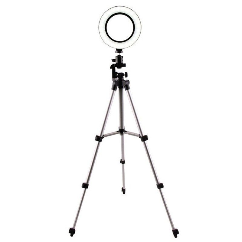 Anchor mobile phone live bracket fill light self-time photography beauty light led ring light flash light tripodAnchor mobile phone live bracket fill light self-time photography beauty light led ring light flash light tripod