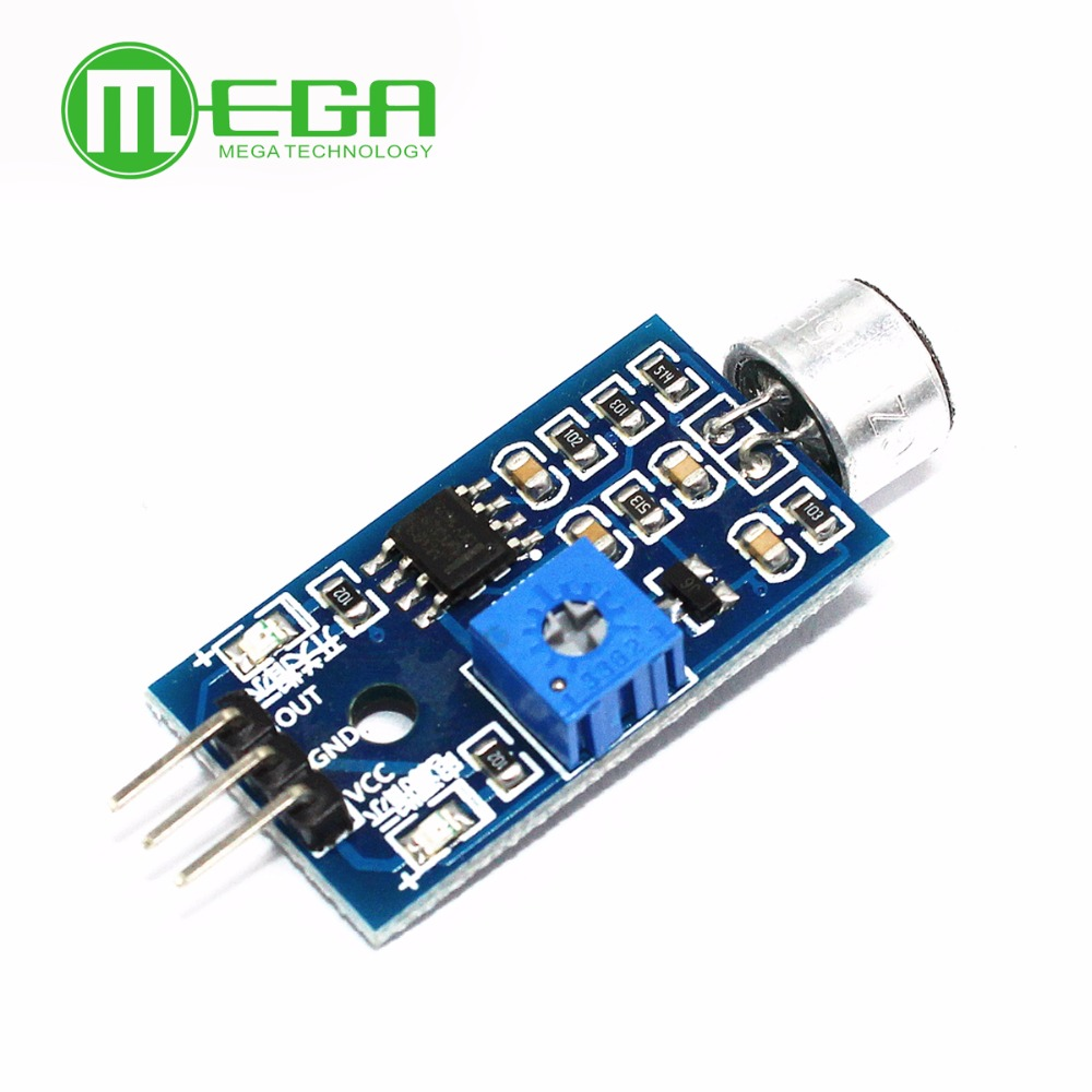 ᗗ2PCS Microphone Sensor High Sensitivity Sound Detecte Voice Switch