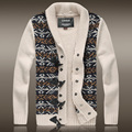"Pullover Men New Limited ""european And American Style Men's 2016 Autumn And Winter Thick Wool Sweater Cardigan Slim Coat Male"