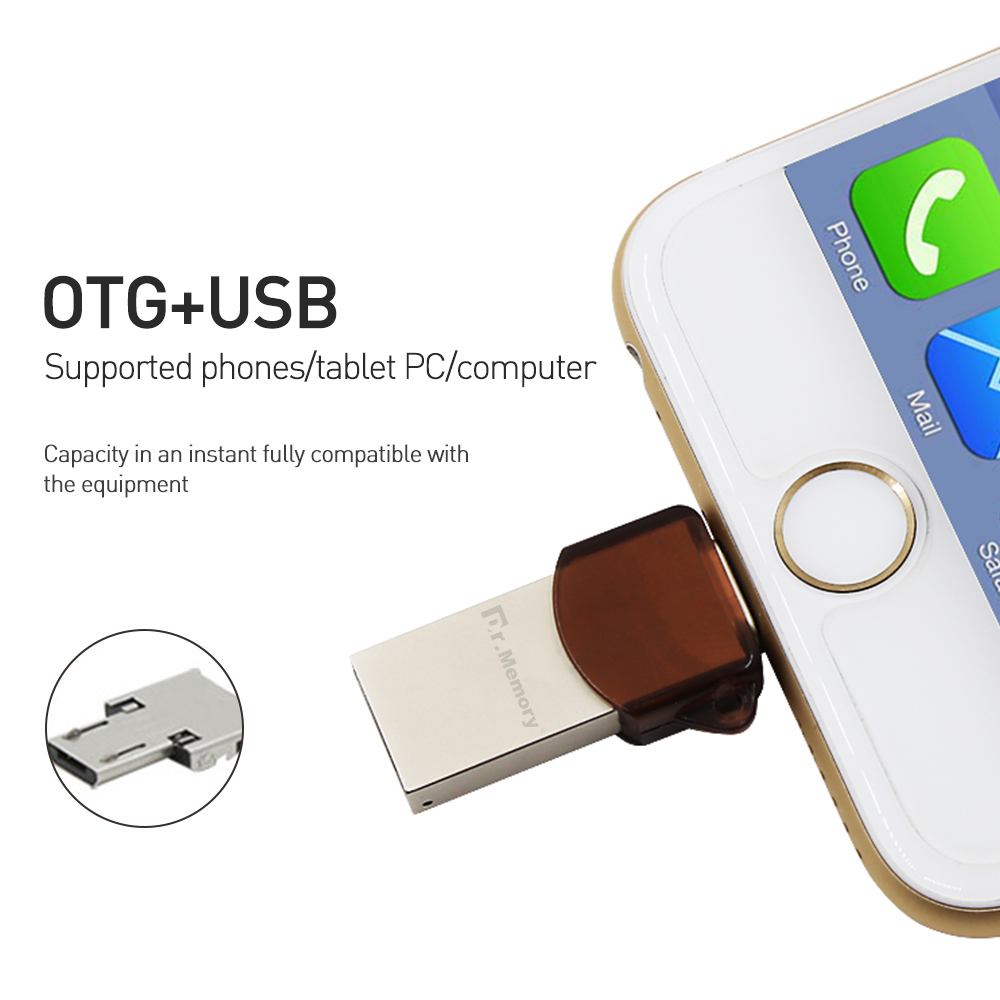 DR-802 i-flash drive Encrypted u disk for Apple ipad iphone 6s 7 Security I-usb memory stick 64G pen drive IOS U DISK flash sini swivel usb flash drive memory cle usb stick u disk pen drive 64gb usb 2 0 4gb 8gb 16gb 32gb pendrive flash drive for gift