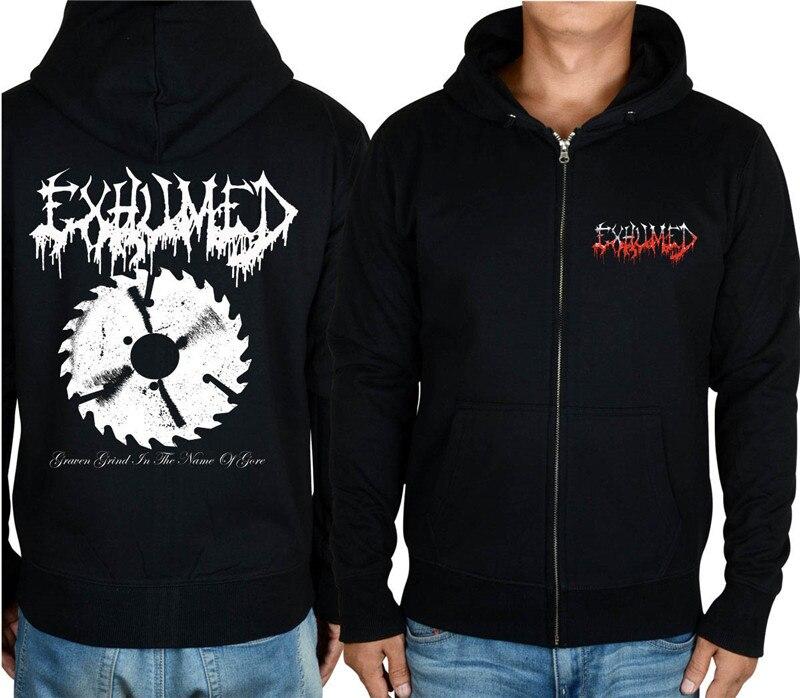 11 видов конструкций на молнии Exhumed Rock hoodies оболочка куртка 3D бренд панк Темный металлический Свитшот saw sudadera спортивная одежда - Цвет: 3