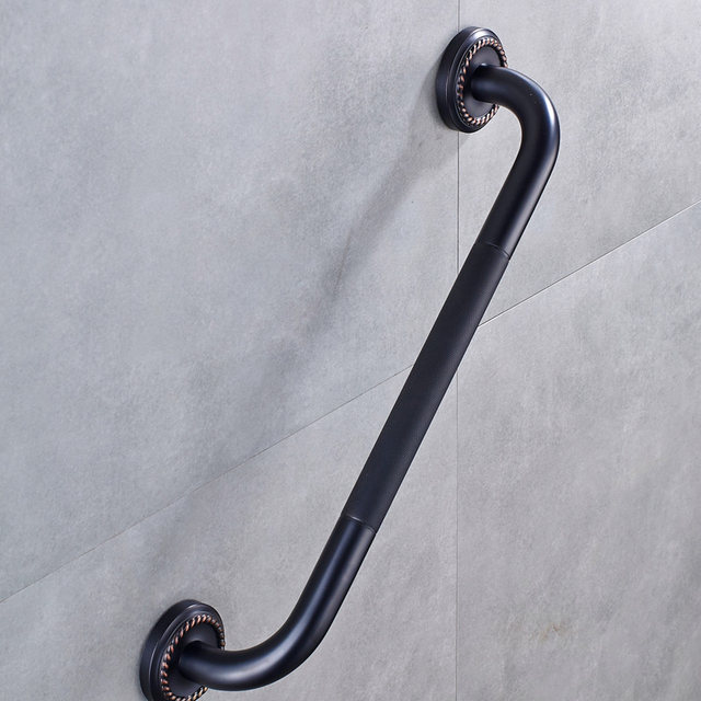 Online Shop Free Shipping Bathroom Grab Bar for Elderly Black ...
