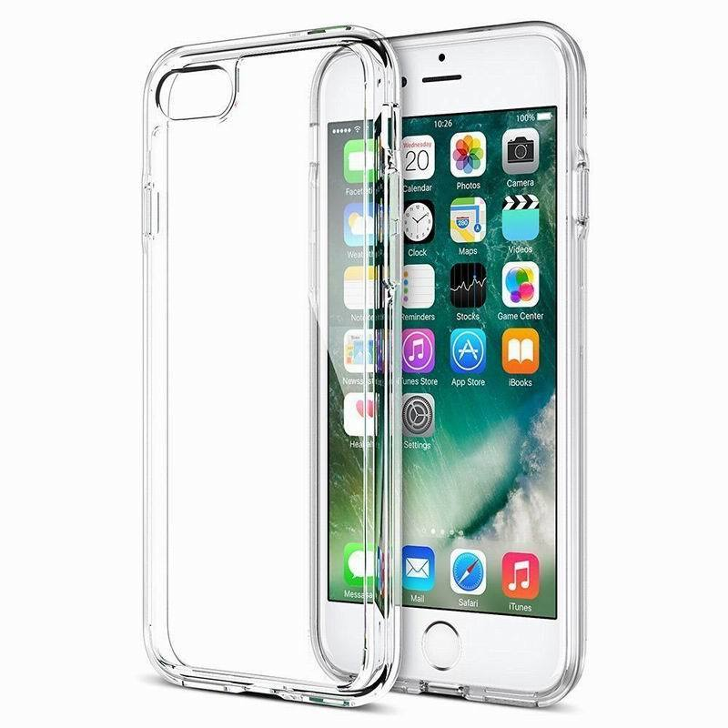 Transparent Case For iPhone 5 5S SE 5C Simple Style Soft TPU Silicone Protective Cover For iPhone 6 6S Plus 7 8 Plus iPod 5/6