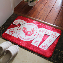 2017 New Year Carpet Mat Home Decoration Mordern Bedroom Living Room Chinese Style Carpet Mat Home Supplies Ati-slip Carpet