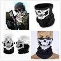 C.gree 25*48cm Skull Bandana Neck Face Mask Headscarf Tubular Multifunctional Scarf Seamless Bandanas Turban Headband Unisex