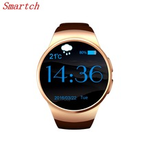 Smartch KW18 Smart Watch Android IOS Heart Rate Bluetooth NFC TF SIM Card Smartwatch for IOS