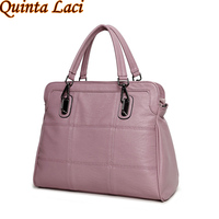 Pu Leather Handbag 2016 Autumn Winters Is One Shoulder Hand Commuter Bag Mass Leisure Embroider Line