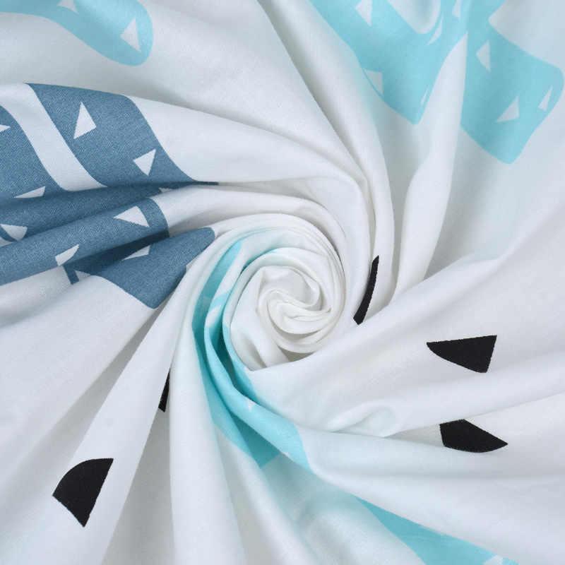 EGMAOBABY, 100% de algodón, Sábana ajustable, suave cama de bebé, Funda de colchón, Protector de dibujos animados, ropa de cama para recién nacidos, tamaño de cuna 130*70cm