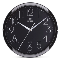 POWER Brand 11 Minimalistic small Wall Clock | Silent Movement | Modern Sleek Design | Home Office Bedroom Living Room Bathroom