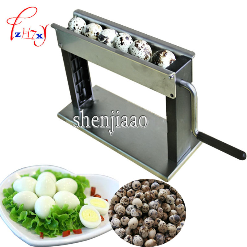 цена на Newest high-efficiency design handy domestic quail egg machine puncher huller machine sheller machine