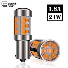 1PCS T20 LED 7440 W21W 4014 105SMD Canbus No Hyperflash 1156 BA15S  P21W PY21W BAU15S Lamp for Reverse Turn Signal Light