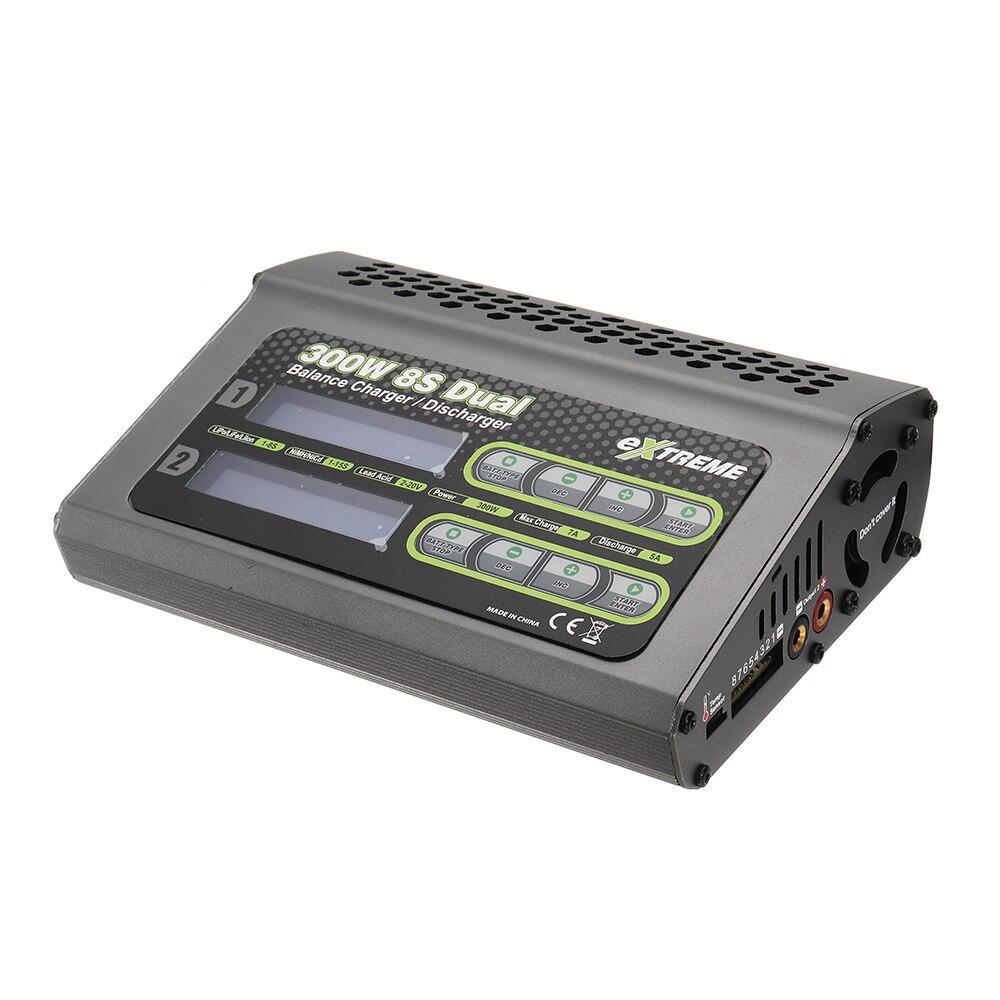 SKYRC Extreme 2X150 w 7A Double DC Chargeur Déchargeur Pour 1-8 s Batterie NiCd/ niMH/Li-ion/Fe Pour Les Modèles RC Électrique Pièces