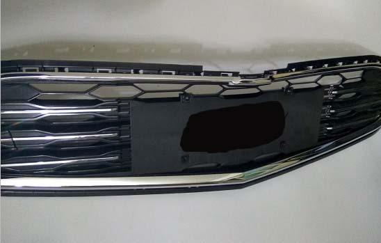 Convient pour Chevrolet Malibu XL 2016-2017 grille calandre grille insert grille inférieure 1 pc