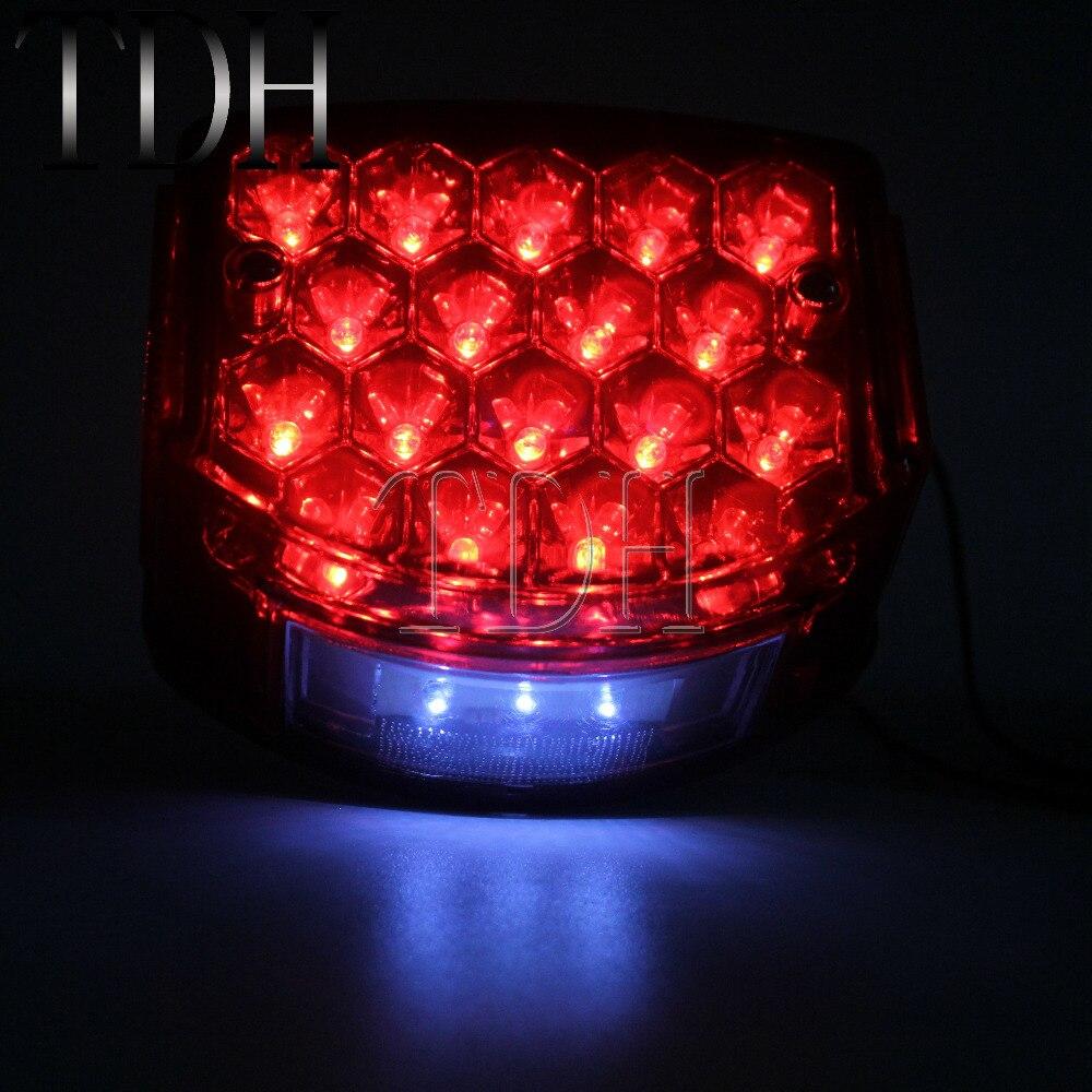 LED Taillight License Plate Light w//Reflector For Minsk 125cc Carpathians 50cc