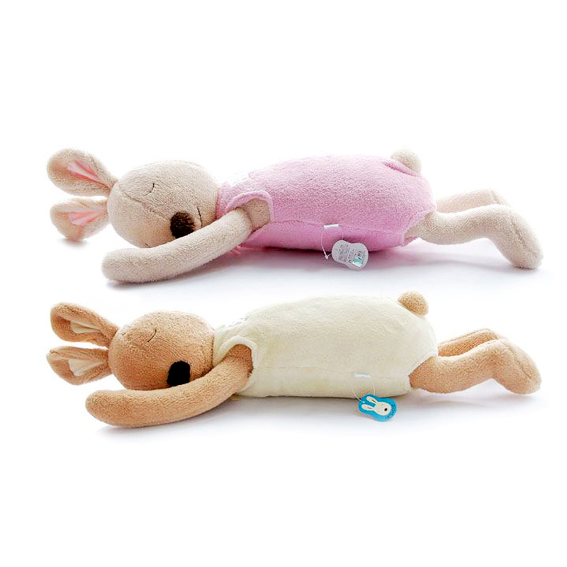 le sucre 70cm Original Rabbit Stuffed doll Soft sleeping bunny Animal plush kids toys High quality baby sleeping rabbit toy gift mini kawaii plush stuffed animal cartoon kids toys for girls children baby birthday christmas gift angela rabbit metoo doll